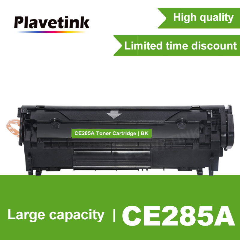 Plavetink 285 85A 285A CE285A Black Toner Cartridge For HP LaserJet Pro P1102 M1130 M1132 M1210 M1212nf M1214nfh M1217nfw|Toner Cartridges| |  - title=
