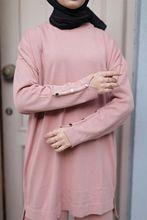 Butik Melike damski zapinany na guziki rękawy garnitur nowy nabytek hidżab abaya moda muzułmańska zestaw islamska odzież modlitwa turcja