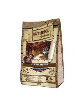 Natural Greatness pavo receta Alimento Seco Completo para Perros - 2000 gr