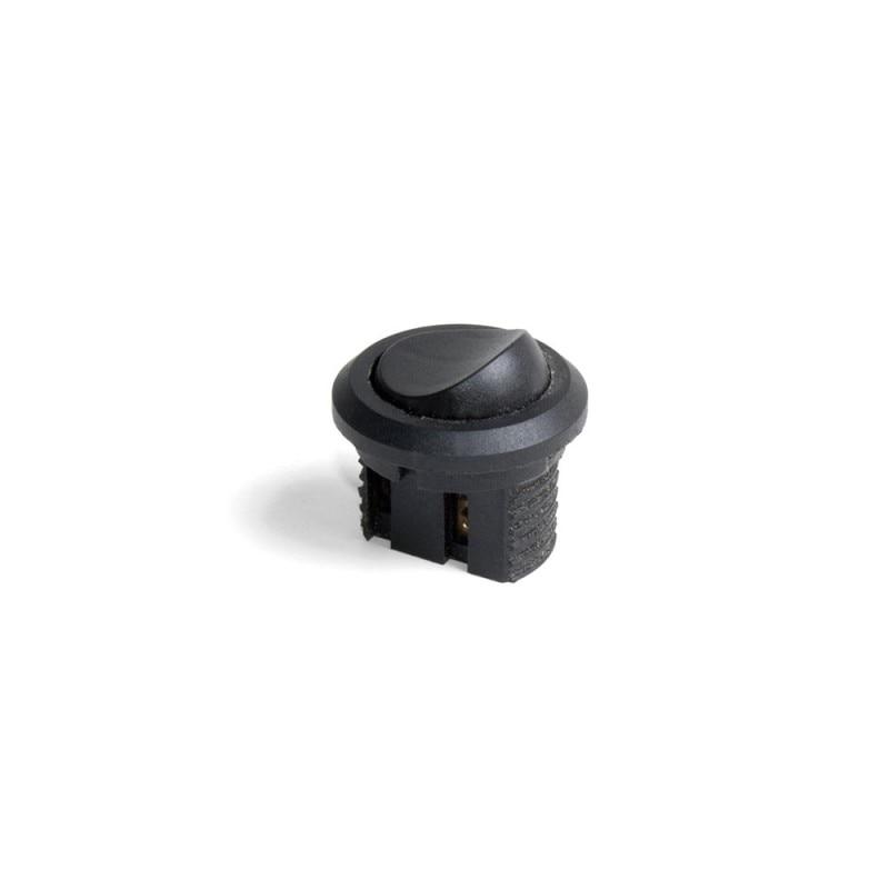 Switch Emuca Recessed Black Plastic