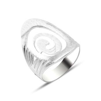 Silver 925 Sterling Ring Without Stone