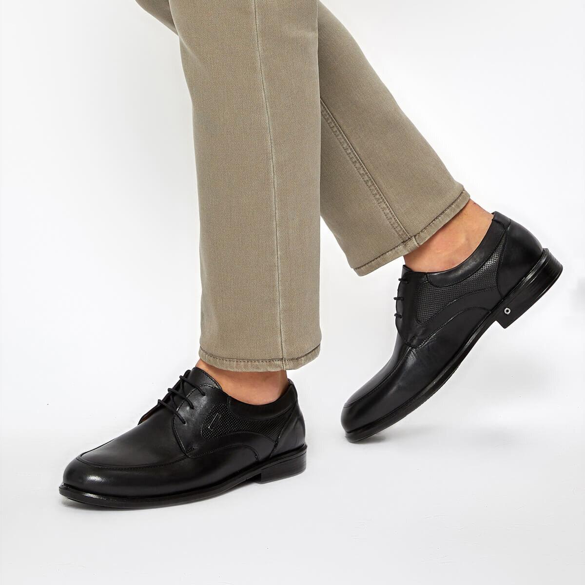 FLO ALABAMA 9PR Black Men 'S Classic Shoes MERCEDES