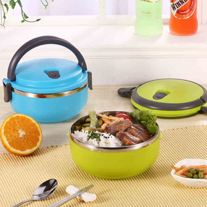 Leak-Proof Stainless Steel Lunch Box Japanese Thermal Bento Box Kids Portable Picnic School Food Container Box