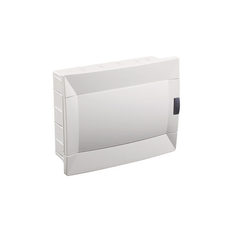 Cash Box Recessed Mounted Automatic 12 Modules IP40 Free Spot Halogen's Lane 35mm Two Modules 17mm Automatic Material Electrics
