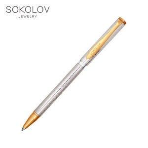 Silver pen SOKOLOV, biżuteria sztuczna, srebro, 925, damskie/męskie, męskie/żeńskie