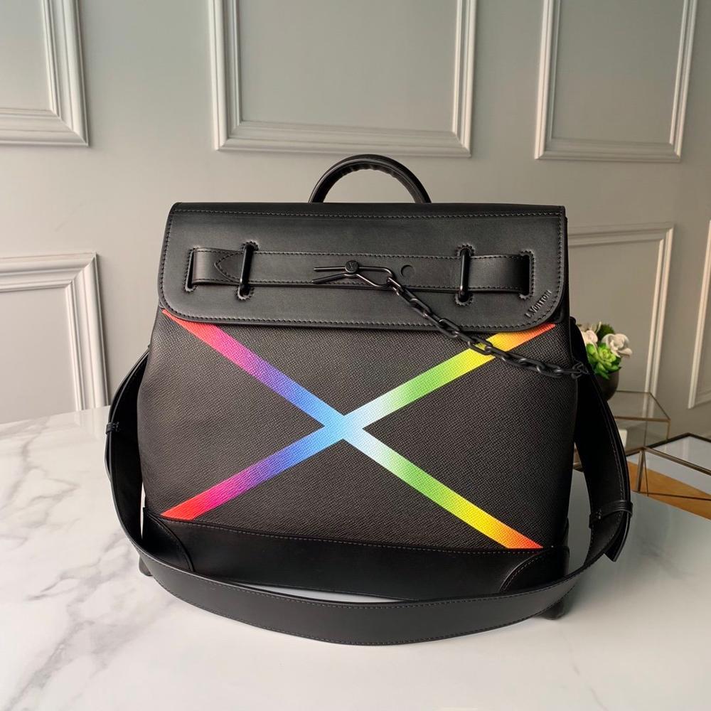 Torba męska LV, luksusowa torba na parowiec męski PM