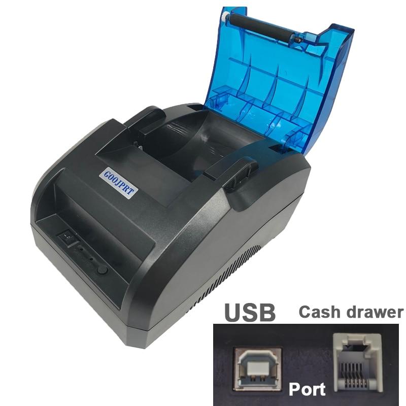 POS-принтер Goojprt JP58H 58 мм USB Bluetooth Термопринтер для Android устройств и ПК