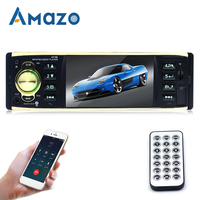 1 Din 4.1 Car Radio MP5 Player Audio Output Stereo AUX Bluetooth Wireless TF Card U Disk Reader Car Radio With Remote Control