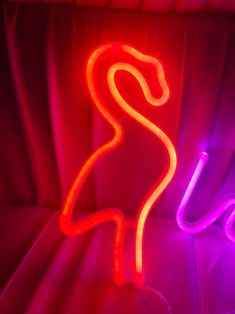 LOVE Neon Signs, LED Neon Battery/USB Cable Operated  Lights Wall Decor for Girls Bedroom House Bar Hotel Beach Recreational