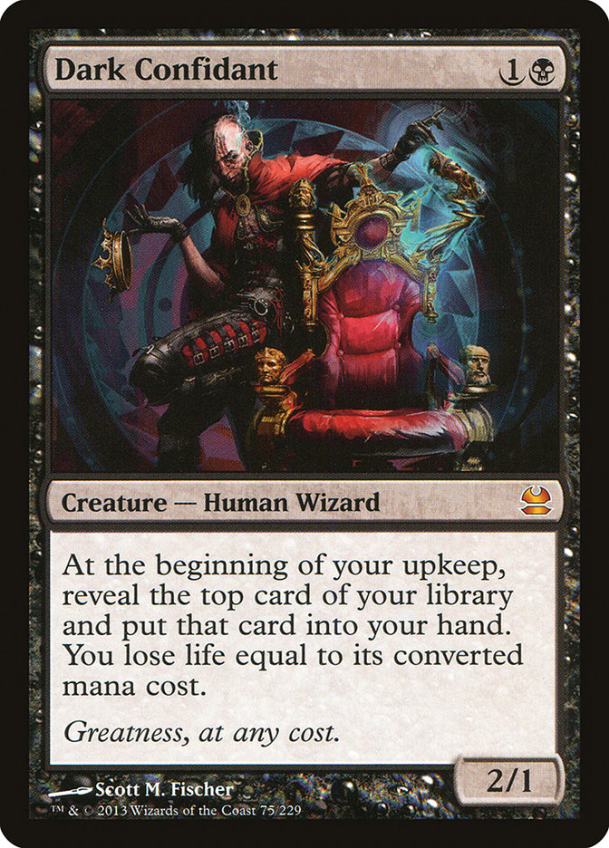 Dark Confidant Modern Masters Magician ProxyKing 8.0 VIP The Proxy Cards To Gathering Every Single Mg Card.