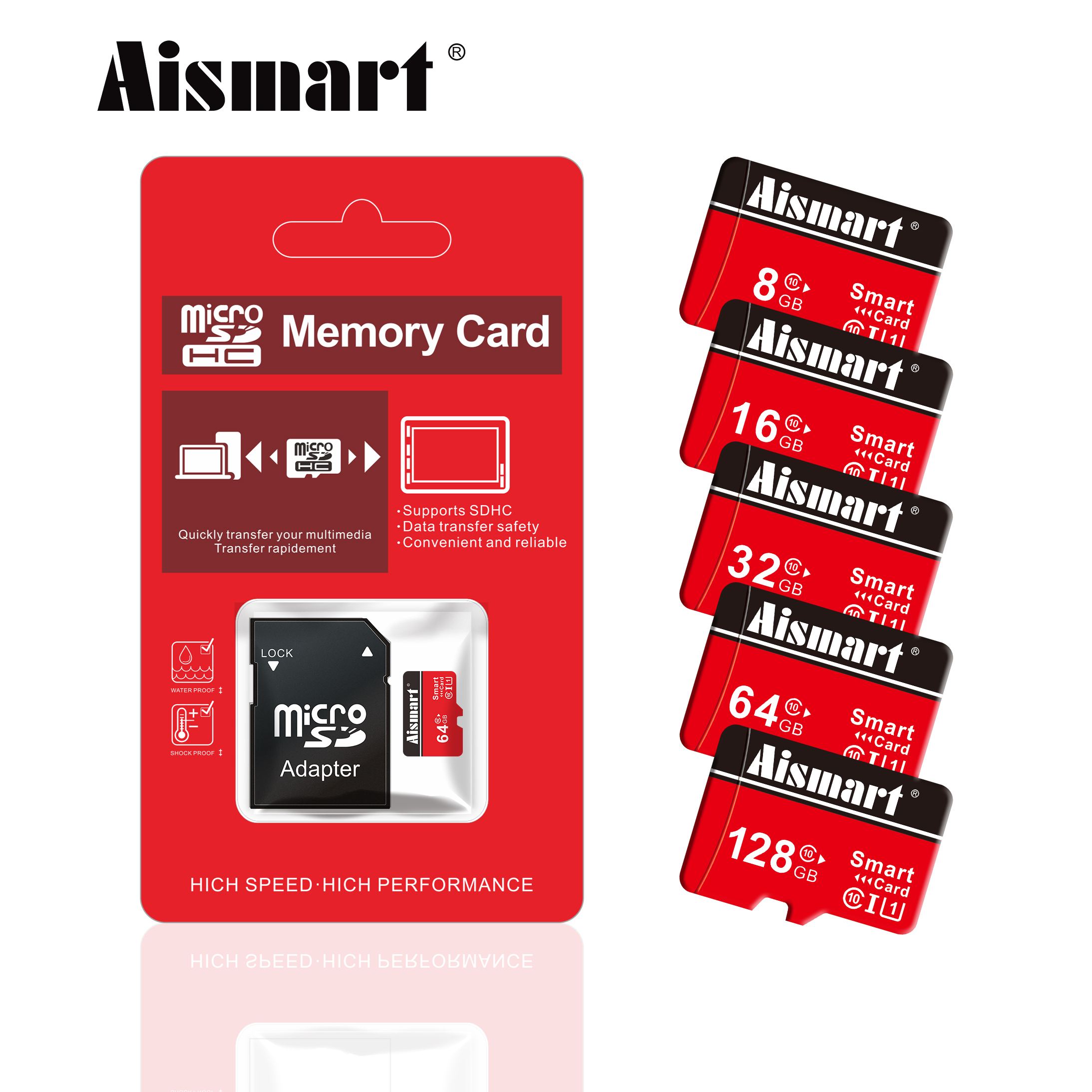 High Speed Micro SD Memory Cards 8GB 16GB 32GB 64GB Class 10 Storage Micro SD Card 128gb 256gb TF card for phone PC tablet