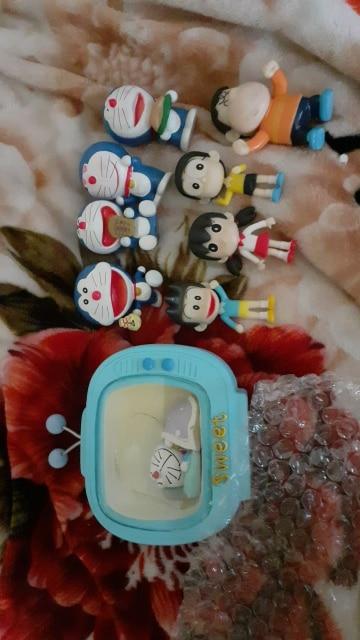 5 Styles Anime Doraemon Mini PVC Action Figures Toys For Kids Children Christmas Gifts Doraemon Model Garden Landscape Dolls Toy photo review