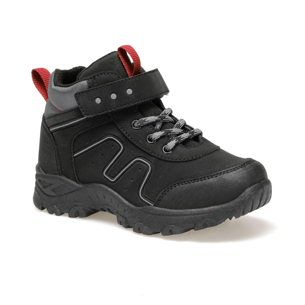 FLO FAVORITE Black Male Child Boots I-Cool