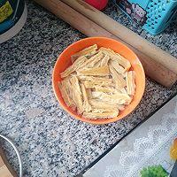 超级好吃的过油肉炒腐竹的做法图解3