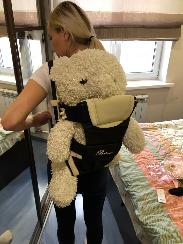 Beth Bear 0 30 Months Breathable Front Facing Baby Carrier 4 in 1 Infant Comfortable Sling Backpack Pouch Wrap Baby Kangaroo New-in Backpacks & Carriers from Mother & Kids on AliExpress