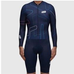 Maap 2019 Musim Panas Pria Bersepeda Bicicleta Triathlon Bersepeda Jersey Lengan Panjang MTB Sepeda Skinsuit Ciclismo Olahraga Renang Menjalankan