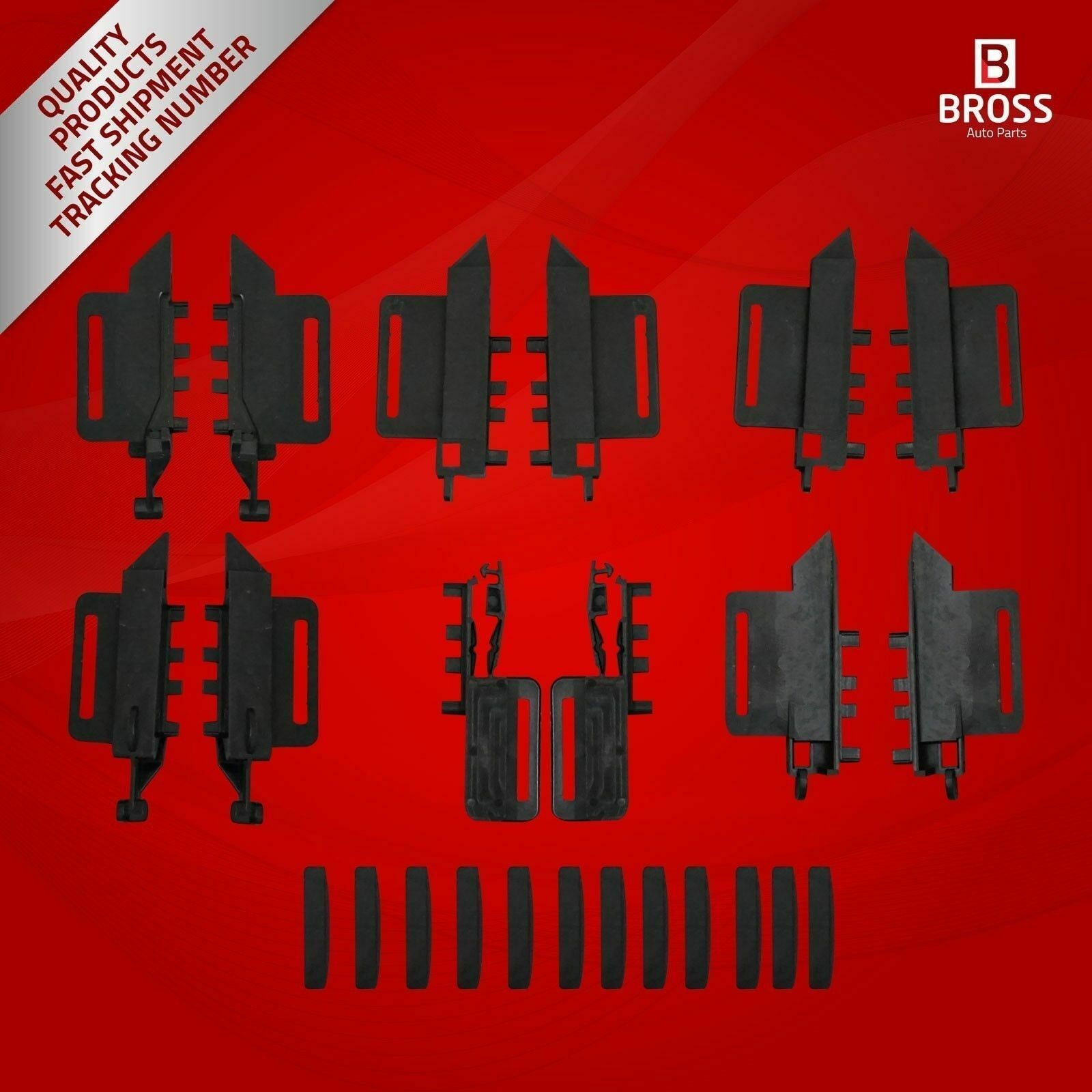 BSR45 Roof Curtain Repair 24 Pieces Set For 307 SW