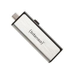 Pamięć USB i Micro USB INTENSO 3523480 32 GB srebrny
