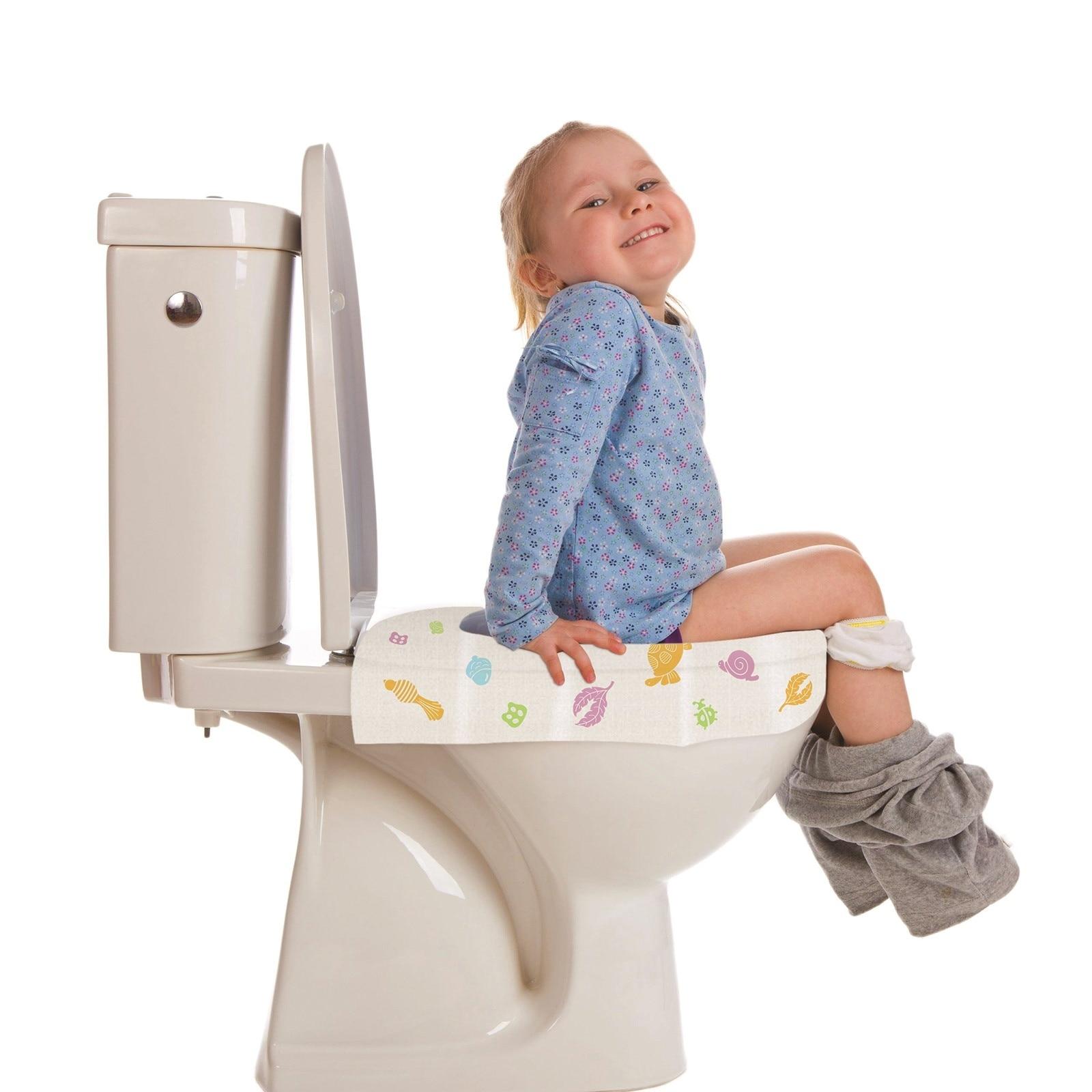 Ebebek Mycey Disposable Toilet Seat Potty Cover Protectors 10 Pcs