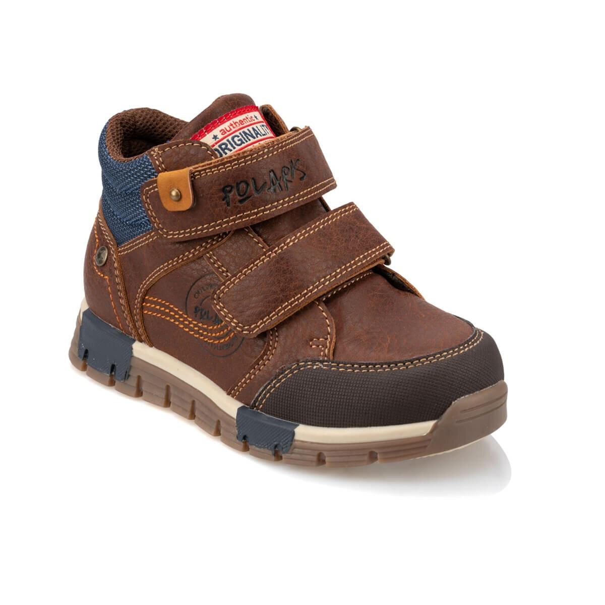 FLO 92.511976.P Brown Male Child Sports Shoes Polaris