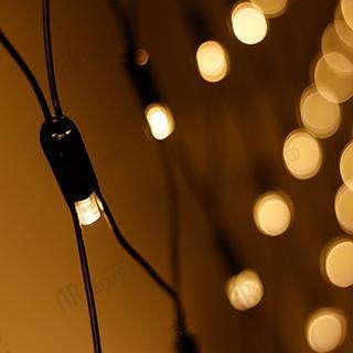 024692 Led Festoon ARD-NETLIGHT-CLASSIC-2500x2500-BLACK-432LED Warm (230V 26 W) ARLIGHT 1-pc