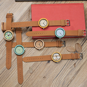 Image 5 - BOBO BIRD Womens Watches Luxury Fashion Bamboo часы женские Wrist Clock 6 Kinds Color Quartz Watch relogio feminino Dropshipping