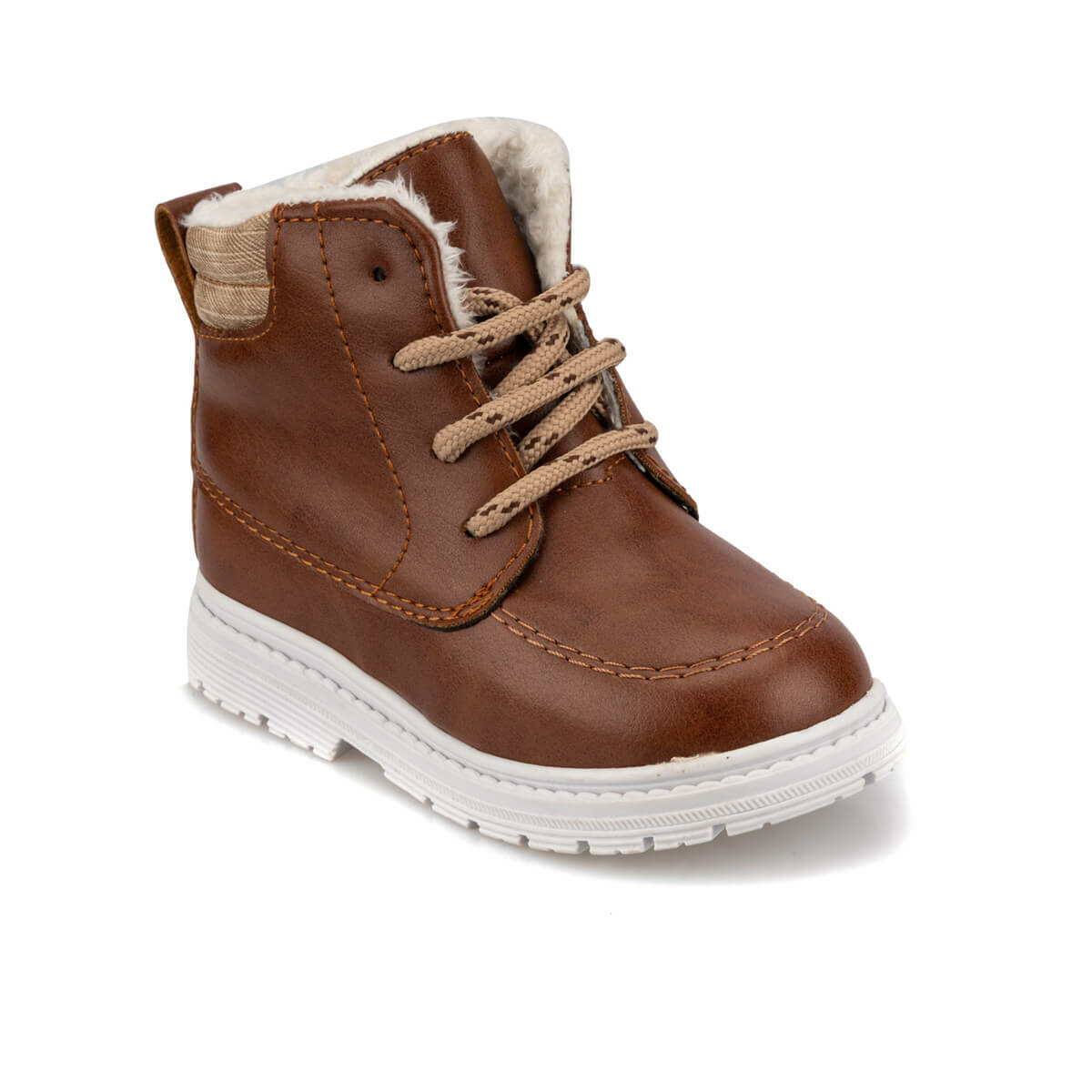FLO 92.509575.B Brown Male Child Boots Polaris
