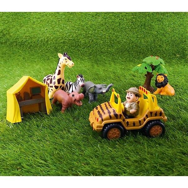 Jeu set jouet majeur animaux sauvages - 4