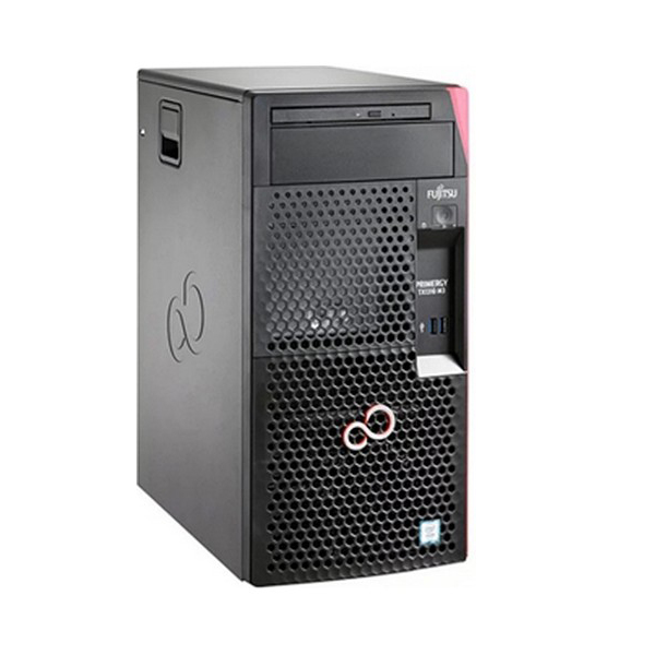 Server Tower Fujitsu TX1310M3 E3-1225v6 Xeon® E3 8 GB RAM 2 TB LAN Black