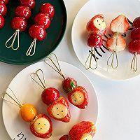 草莓糖葫芦的做法图解5