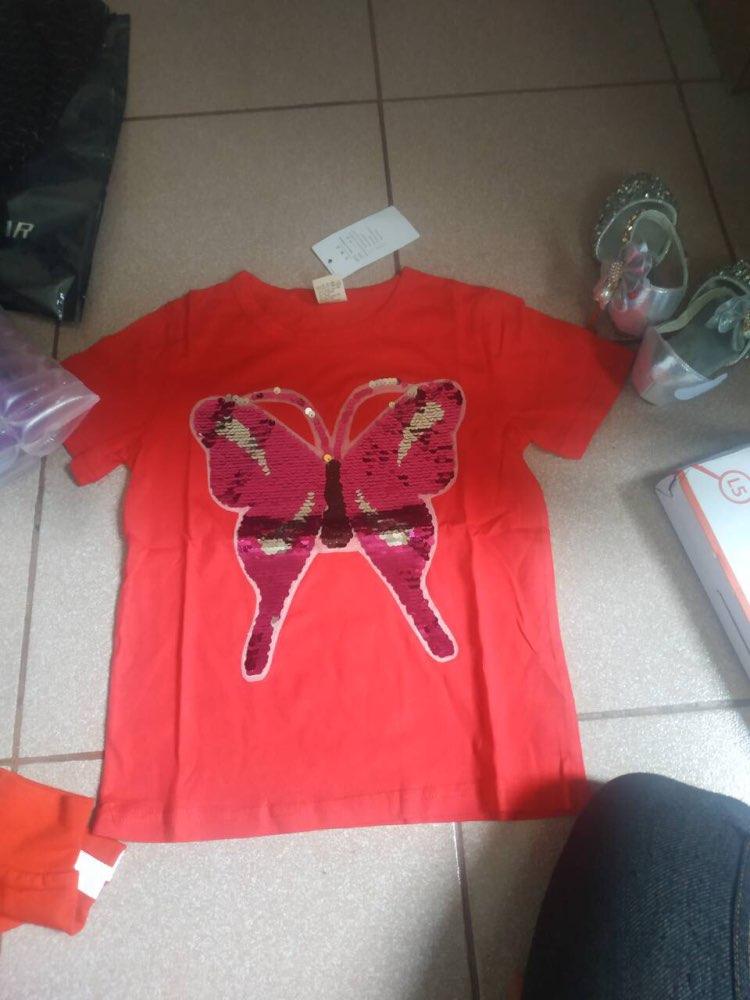 Camisetas reversa descoloração lantejoulas