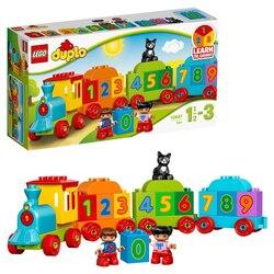 Designer Lego Duplo 10847 zug считай und spielen