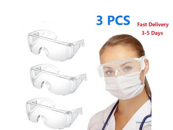 Safety Protective Goggles Protection Goggles Anti Dust Wind Fog Protective Eyewear Sports Glasses new safety glasses protective motorcycle goggles dust wind s