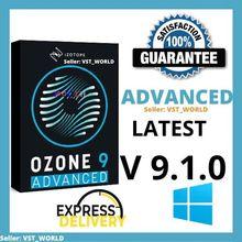 IZotope ozone Advanced 9 ultimate full version 9.1.0 Windows Lifetime