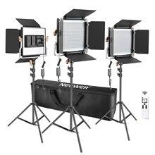 Neewer 3 комплекта усовершенствованный 480 светодиодный светильник