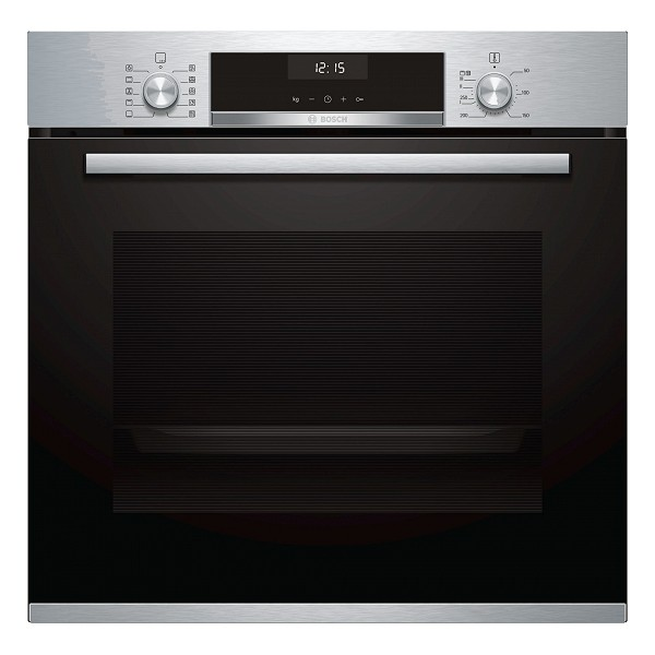 Multipurpose Oven BOSCH HBA5370S0 71 L LCD 3400W Black Stainless Steel