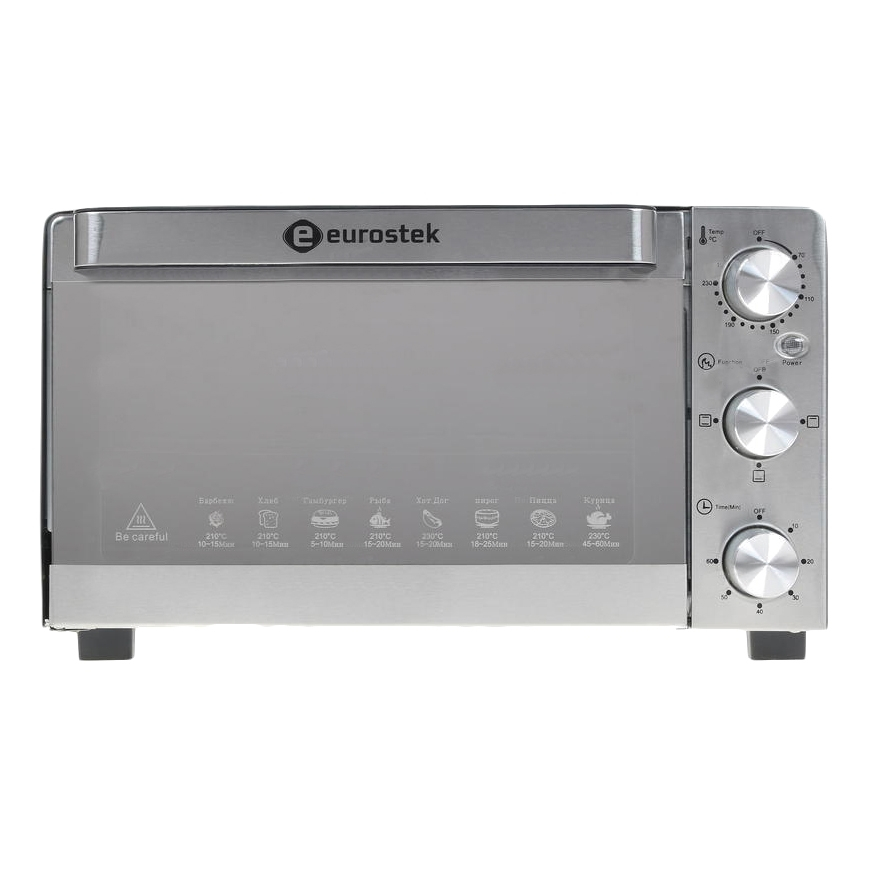 Mini oven Eurostek ETO-028S (Timer 60 minutes, temperature modes from 70-230) dkj y 60 minutes 15a delay timer switch for electronic microwave pressure oven cooker