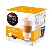 Kahve kapsülleri Nescafé Dolce Gusto 98386 Latte Macchiato (16 uds)