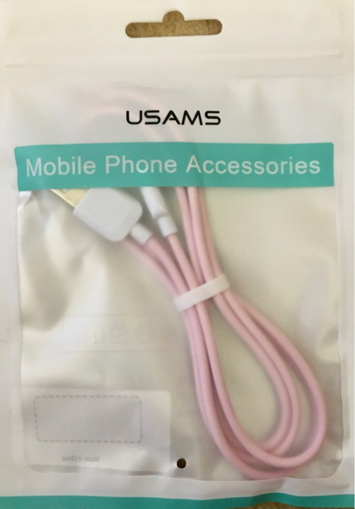 USB Cable For iPhone 7 Cable,USAMS 2A Fast Charging for iPhone X 8 7 6 6s plus 5s 5 SE Date Cables charger for lighting cable-in Mobile Phone Cables from Cellphones & Telecommunications on AliExpress