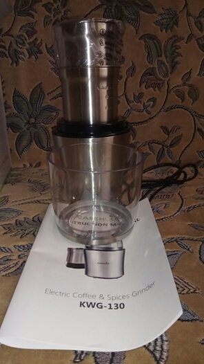 Easehold 200W Electric Coffee Grinder Stainless Steel Body Big Capacity for Salt Pepper Grinder Powerful bean Grinding Machine-in Electric Coffee Grinders from Home Appliances on AliExpress