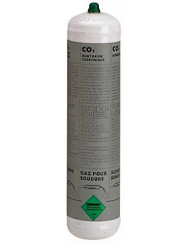 802038 GAS CYLINDER CO2-1l. -NON-RECOVERABLE