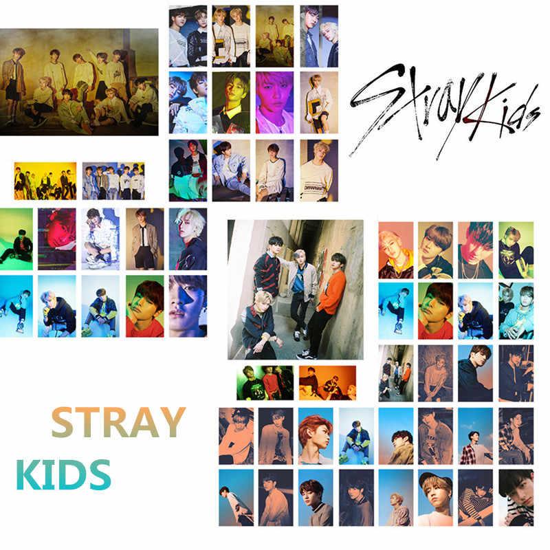 Kpop Stray Kids Photocard Album Photo Card Mini LOMO Card Acquaintance Mixtape Straykids Hellevator YANG JEONG.jpg q50