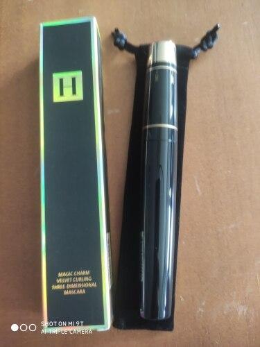 HENLICS Mascara 300degree Adjustable Brush 3D Mascara Waterproof Eyelash Extension Black Thick Lengthening Eye Lashes reviews №4 171142