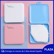 3 tipos de Porta mascarillas estuche de mascarilla guarda mascarillas caja de mascarilla para higienicas Hecho en españa mask666