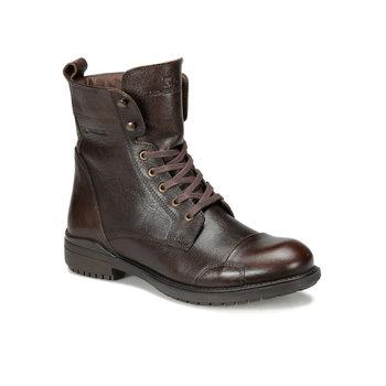FLO MOTOREX 9PR czarne męskie buty drwal tanie i dobre opinie LUMBERJACK Buty motocyklowe Na płótnie ANKLE