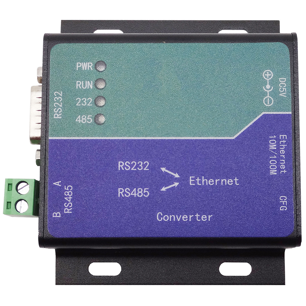 Taidacent Serial Server Ethernet To Serial Adapter Serial Port To Ethernet Adapter RS485\RS232 To Ethernet Converter Modbus TCP