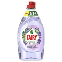 FAIRY Средство для мытья посуды Pure& Clean Лаванда и Розмарин 450мл