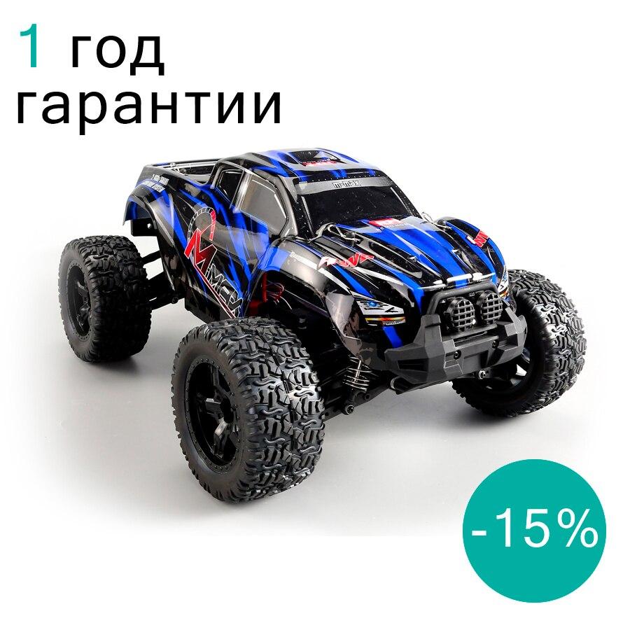 Радиоуправляемый монстр Remo Hobby RH1031 4WD RTR Имеет влагозащиту и повышенную проходимость. До 50 км/ч, полный привод, 1:10