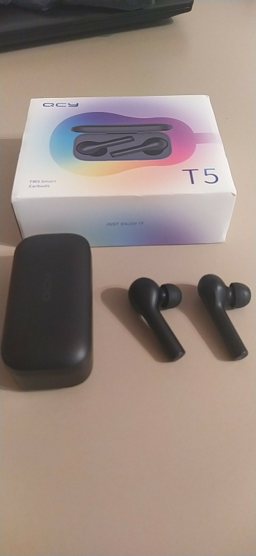 2019 QCY T5 True Wireless Earphones Bluetooth 5.0 Touch Control Sports Headphones Stereo Sound Headset For Music|Bluetooth Earphones & Headphones|   - AliExpress
