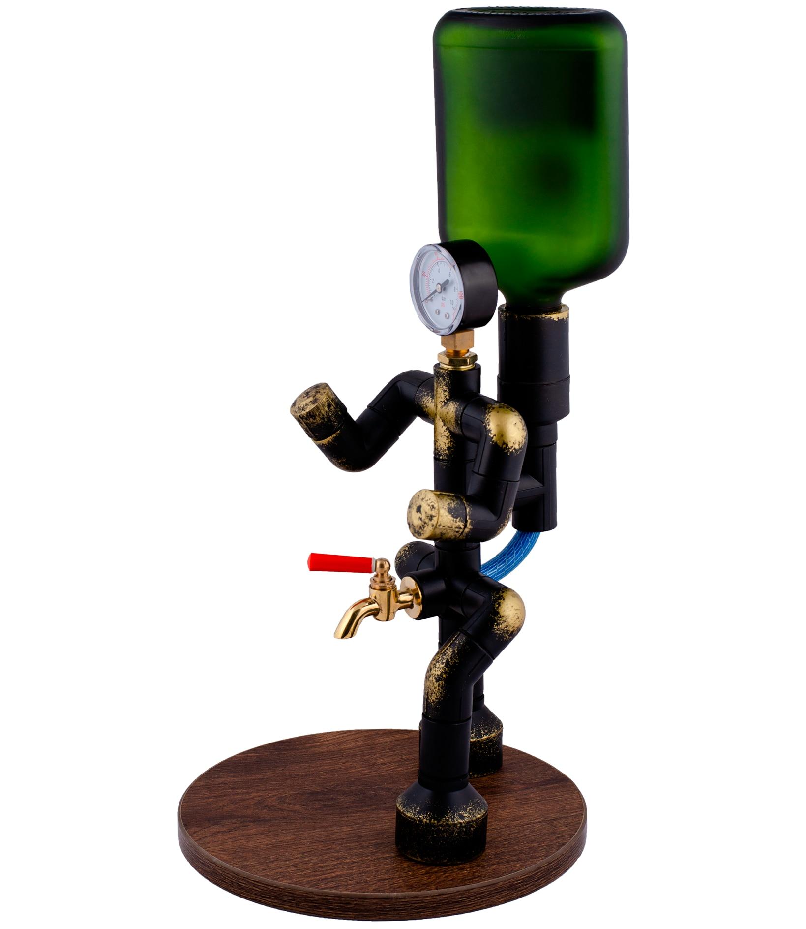Диспенсер для алкогольных напитков Бармен с прибором, полипропилен|Другие инструменты для бара|   | АлиЭкспресс